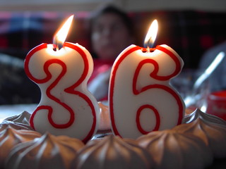 velas de pastel