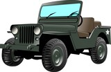 us army jeep poster