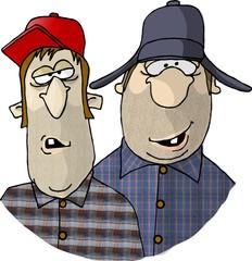 two rednecks