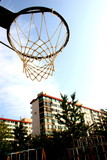 basketball hoop poster