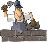 brick mason poster