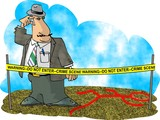 crime scene investigator poster