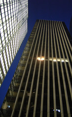 building in the night