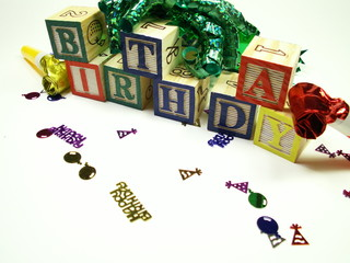birthday blocks
