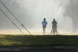 misty runners poster
