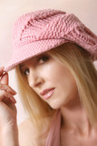 pink beret poster