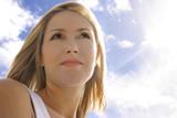 female in the sunlight poster