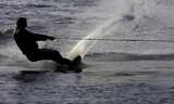 Fototapeta narciarz - narty - Sporty wodno-motorowe
