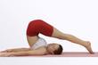yoga;halasana (plow pose)