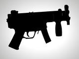 hk machine pistol poster