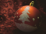 christmas ornament 1 poster
