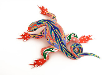 colorful lizard #1