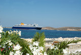 greek ferry poster