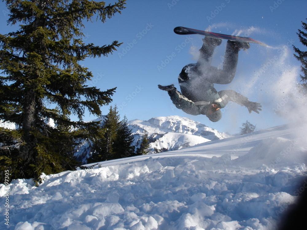 śnieg góra freestyle - powiększenie