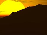 big sun mountain poster