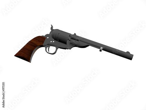 poster of pistol open top