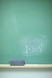 chalkboard with numbers