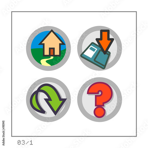 web: icon set 03 - version 1