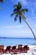 Leinwanddruck Bild quiet beach