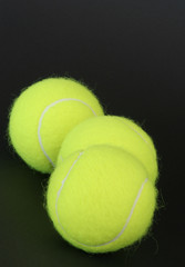 tennis ball trio