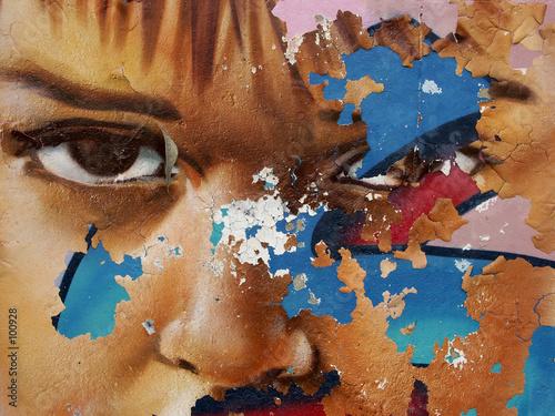 Leinwanddruck Bild street art