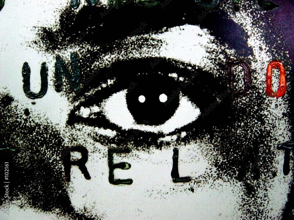 street art street art spojrzenie - powiększenie