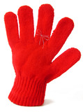 glove with reminder string poster
