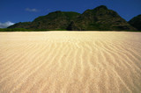 rippled sand landscape poster