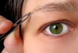 tweezing brows poster