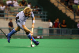 hockey player in action poster