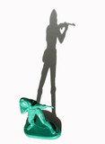 toy army man with long shadow poster