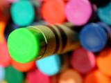 lime crayon