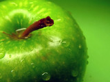 green apple poster