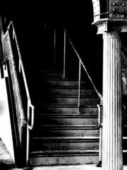 dark_staircase_bw