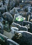 plaques funéraires poster