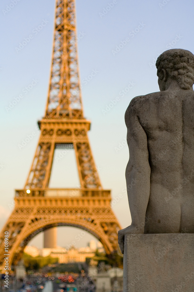 wieża paris francja - powiększenie