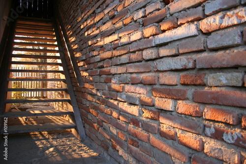 escalier et ombre