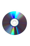 blank disc (with clipping path) poster