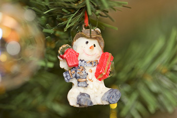 christimas snowman
