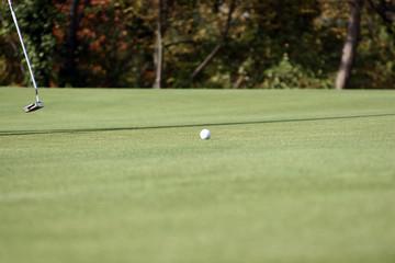 elle roule la balle de golf !!!