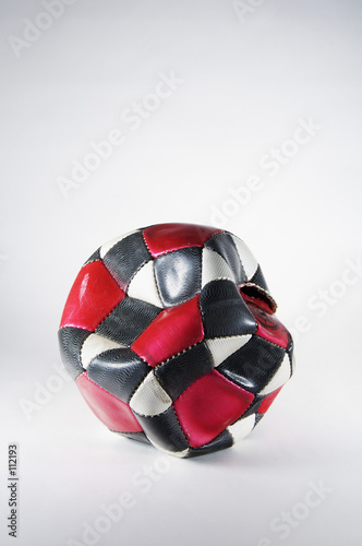 used soccer ball