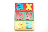 blocks and alphabets 1 poster