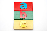 blocks and alphabets 2 poster