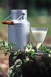 pot de lait poster