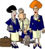 flight attendants poster