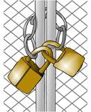 locked gate poster