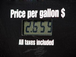 price per gallon