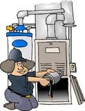 furnace repair poster