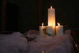 wedding candles poster