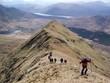 climbing mweelrea mountain co. mayo